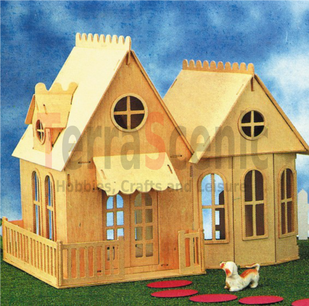 Wooden Dolls House: The Studio TL2006/1